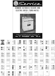 washer dryer library service manual to the very first kenmore