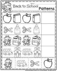 back to preschool worksheets worksheets back to