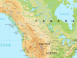 North America Physical Map North America Physical Map By Cartarium Graphicriver