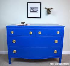 gorgeous dresser painted jazz blue by behr paint original