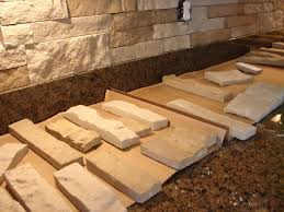 Lowes Stone Backsplash by Diy Stone Backsplash With Airstone I Actually Did This Too