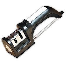 kitchen knives sharpening kangever kitchen knife sharpener 2 stage black