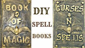 diy halloween spell books youtube