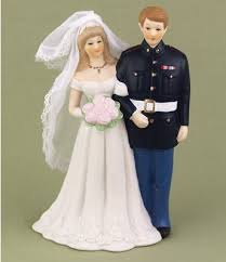 military wedding cake toppers and ideas
