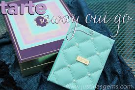 oui set tarte away oui go set for 2014 justina s gems