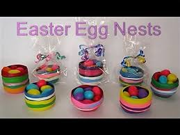 Decorate Easter Eggs Online by Diy Easter Crafts For Kids Mini Gift Basket Egg Nests Recycled