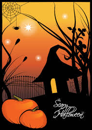 scary halloween clipart scary halloween cards u2013 festival collections