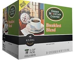 Blend K Cups Green Mountain Breakfast Blend K Cups Just 0 34 Cup Living Rich