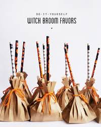 don t forget the treat bags i made these witch broom