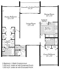 2 Bedroom Condo Floor Plan Harbour Ridge Yacht U0026 Country Club By Hr Properties Condo Floor