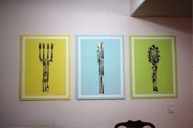 Cheap Kitchen Wall Decor Ideas Kitchen Wall Decor With Some Creative Art U2014 Decor For Homesdecor