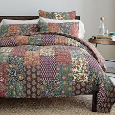 Coverlet Bedding Sets 15 Best Real Patchwork Quilted Coverlet Bedspread Bedding Sets