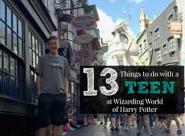 Harry Potter Adventure Map 13 Things To Do With Teen At Wizarding World Of Harry Potter