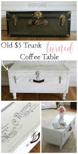 vintage trunk coffee table 5 old trunk coffee table a thrifty makeover trunk coffee tables