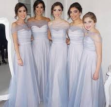 cheap light blue bridesmaid dresses light blue 2018 cheap bridesmaid dresses a line sweetheart neck