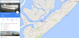 Local Map Map Brigantine Fishing Atlantic City Fishing