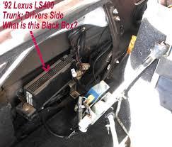 lexus sc300 antenna replacement black box in trunk what is it clublexus lexus forum discussion