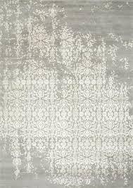 Hemp Area Rugs Jaipur Rugs 4x6 Ft Tibetan Style Grey U0026 Black Wool U0026 Art Silk Rug