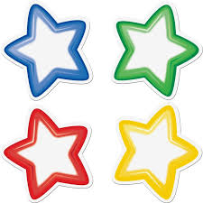 group color student star magnets