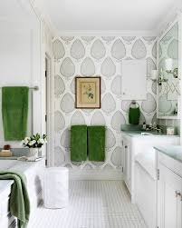 cheerful 11 wallpapered bathrooms gorgeous wallpaper ideas for