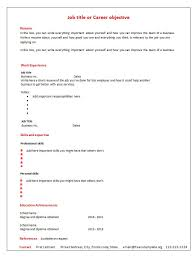Blank Resume Template Download Blank Resume Template Health Symptoms And Cure Com
