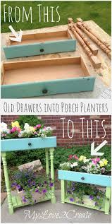 Diy Herb Garden Box by Best 25 Cheap Planters Ideas On Pinterest Outdoor Flower