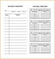 Staff Roster Template Excel Free Baseball Roster Template Custom Baseball Dugout Lineup Card