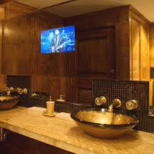tv in the mirror bathroom bathroom mirrors with built in tvs bathroom mirrors tvs and sinks