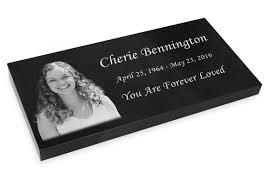 headstones grave markers photo grave marker black granite engraved memorial headstone