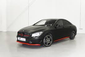 mercedes matte black mercedes cla personal vehicle wrap project