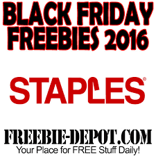 black friday freebies staples blackfriday free