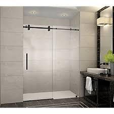 Shower Door Aston Sdr978 Orb 60 10 Langham X 75 In Frameless Sliding Shower