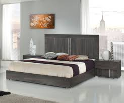 Italian Modern Bedroom Furniture Sets Modrest Luca Italian Modern Grey Bedroom Set