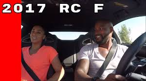 youtube lexus rc f sport 2017 lexus rc f test drive by celebrities youtube