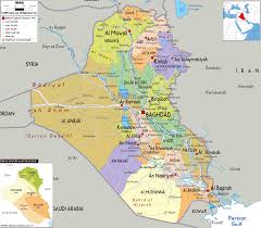 Baghdad World Map by Maps Of Iraq Detailed Map Of Iraq In English Tourist Map Of