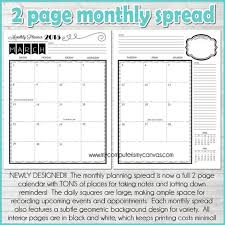 printable monthly planner september 2014 printable planner kit 2017 planner pages agenda life planner