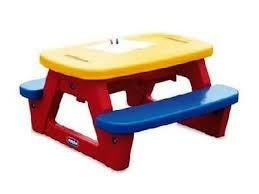 tavolo sedia bimbi giochi da giardino
