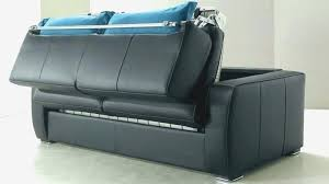 canap convertible 2 places cuir canape convertible 2 places meilleur canape lit noir canape lit