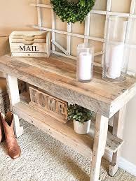Rustic Hallway Table Best 25 Rustic Entry Ideas On Pinterest Rustic Entryway
