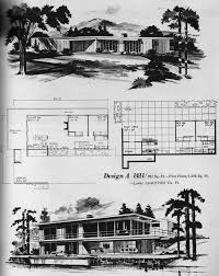 home planners house plans 37 best mid century floor plans images on modern house