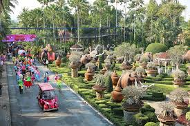 Largest Botanical Garden by One Of The Most Beautiful Garden In The World Nong Nooch