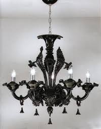 ladari stile antico ladario in vetro di murano nero stile antico disponibili