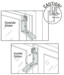 How To Install A Sliding Patio Door To Install A Sliding Patio Door Bolt Lock