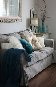 Ikea Karlstad Loveseat Cover Furniture Get A Modernized Look For Your Ikea Ektorp Slipcover