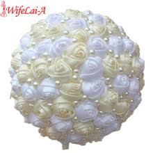Wedding Bouquets Cheap Online Get Cheap White Wedding Bouquets Aliexpress Com Alibaba