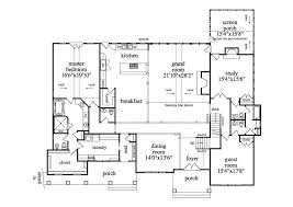 large single story house plans modern house plans small one level plan with open floor wrap