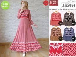 Grosir Baju Muslim toko grosir baju muslim murah supplier baju jumbo ag5051 toko