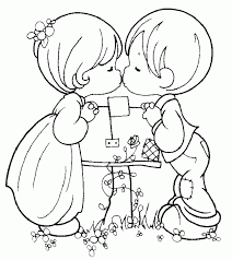 easy printable precious moments coloring pages coloring