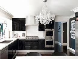 modern black and white kitchen designs valuable idea modern chic kitchen designs on home design ideas