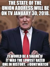 State Of The Union Meme - donald trump imgflip